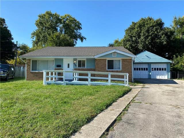 4120 Flamingo West Drive, Indianapolis, IN 46226 (MLS #21816797) :: Pennington Realty Team
