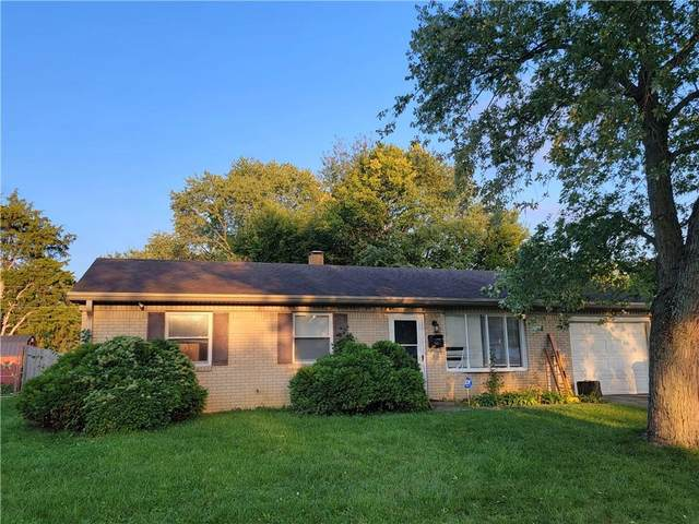 3641 N Faculty Drive, Indianapolis, IN 46224 (MLS #21817119) :: The Indy Property Source