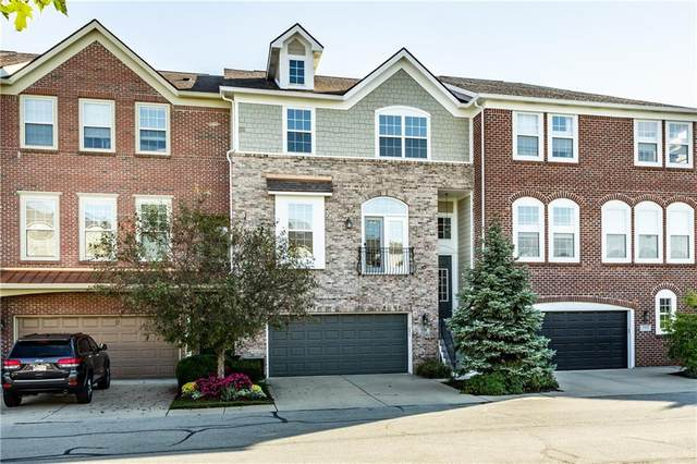 219 Wakefield Way 9E, Zionsville, IN 46077 (MLS #21817132) :: The Evelo Team