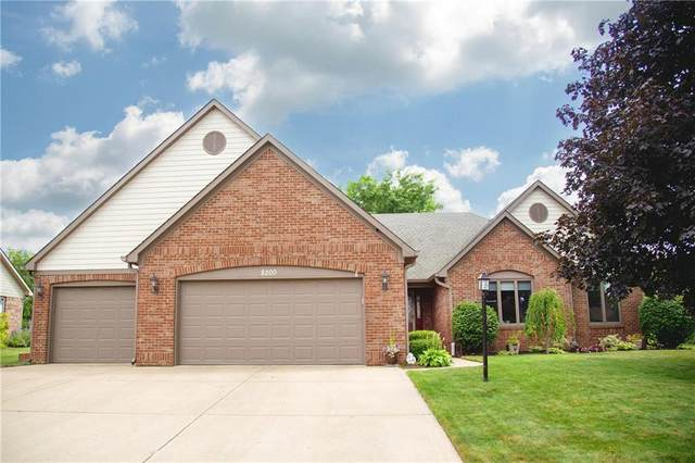 8200 Creek Way, Avon, IN 46123 (MLS #21817170) :: Mike Price Realty Team - RE/MAX Centerstone
