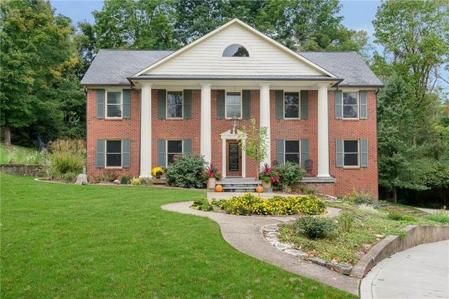 8610 Bay Colony Drive, Indianapolis, IN 46234 (MLS #21817189) :: Pennington Realty Team