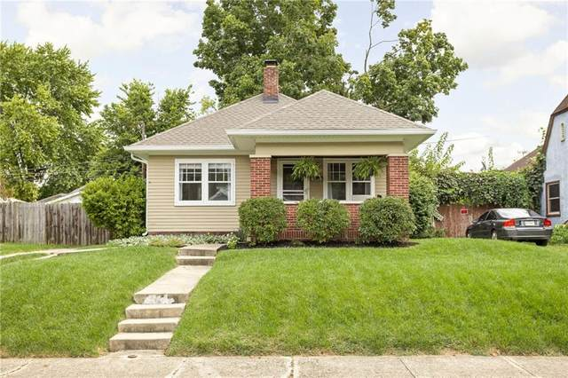 5347 Guilford Avenue, Indianapolis, IN 46220 (MLS #21817325) :: Pennington Realty Team