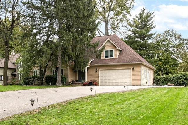 2250 E 75TH Street, Indianapolis, IN 46240 (MLS #21817327) :: The Evelo Team