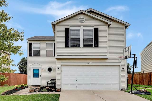 8244 S Shady Trail Drive, Pendleton, IN 46064 (MLS #21817392) :: Pennington Realty Team