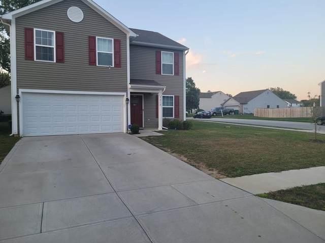9212 Tansel Creek Drive, Indianapolis, IN 46234 (MLS #21817521) :: Heard Real Estate Team | eXp Realty, LLC