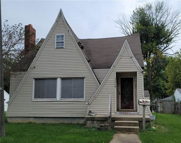 2626 Main Street, Anderson, IN 46016 (MLS #21817532) :: The Evelo Team