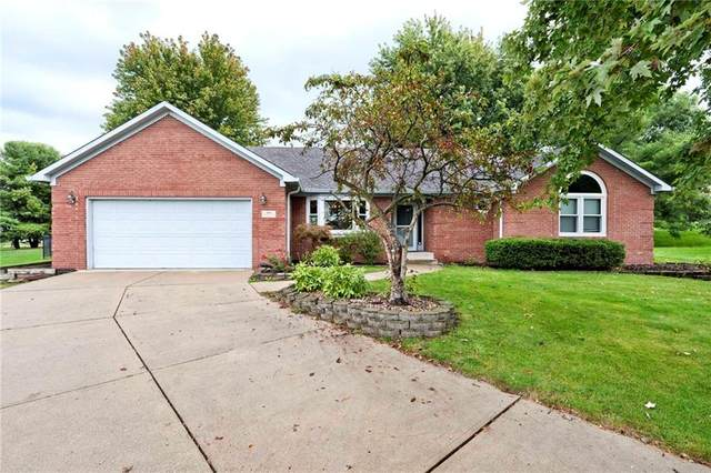 399 Elmscourt Circle, Greenwood, IN 46142 (MLS #21817681) :: Ferris Property Group