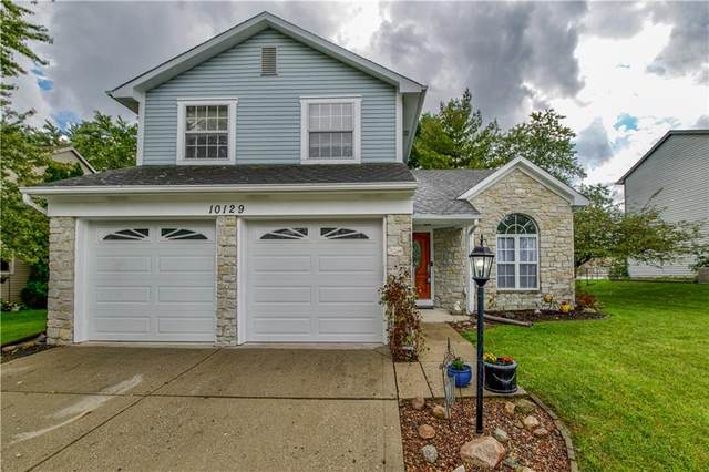 10129 E Park Stream Drive, Indianapolis, IN 46229 (MLS #21817745) :: Pennington Realty Team