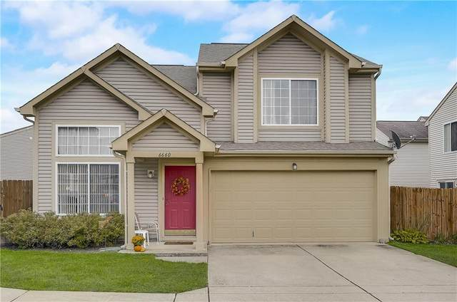 6660 Dunsdin Drive, Plainfield, IN 46168 (MLS #21817754) :: Mike Price Realty Team - RE/MAX Centerstone