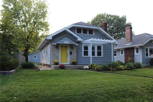 4906 N Kenwood Avenue, Indianapolis, IN 46208 (MLS #21817775) :: Mike Price Realty Team - RE/MAX Centerstone