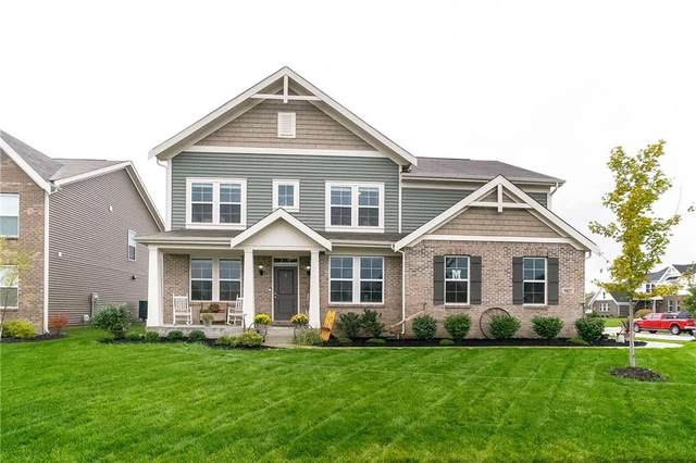 9827 Mosaic Blue Way, Indianapolis, IN 46239 (MLS #21817782) :: Ferris Property Group