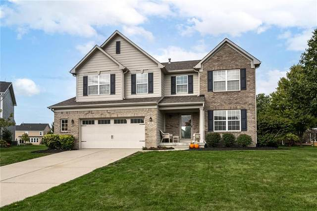 4018 Ivory Court, Carmel, IN 46074 (MLS #21817980) :: Mike Price Realty Team - RE/MAX Centerstone