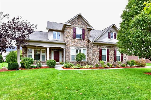 9754 Mustang Trail, Fishers, IN 46040 (MLS #21818217) :: Quorum Realty Group