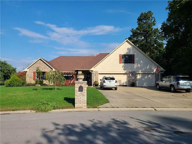 4148 Hickory Grove Court, Clayton, IN 46118 (MLS #21818273) :: The Indy Property Source