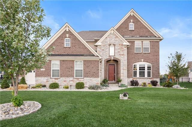 10016 Copper Saddle Bend, Fishers, IN 46040 (MLS #21818274) :: Mike Price Realty Team - RE/MAX Centerstone