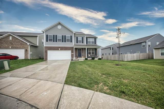 9105 Tansel Creek Drive, Indianapolis, IN 46234 (MLS #21818287) :: Heard Real Estate Team | eXp Realty, LLC