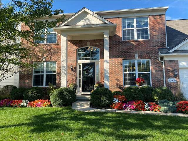 12990 Thames Drive, Fishers, IN 46037 (MLS #21818291) :: Mike Price Realty Team - RE/MAX Centerstone