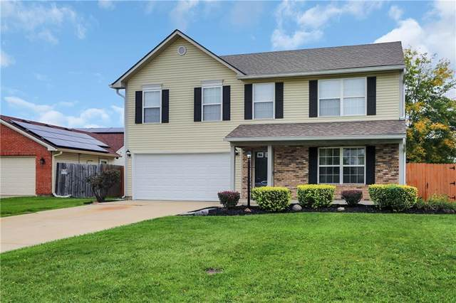 8031 Southern Trails Place, Indianapolis, IN 46237 (MLS #21818345) :: Pennington Realty Team