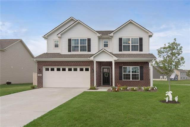 6886 W Cedarwood Circle, Mccordsville, IN 46055 (MLS #21818464) :: Mike Price Realty Team - RE/MAX Centerstone