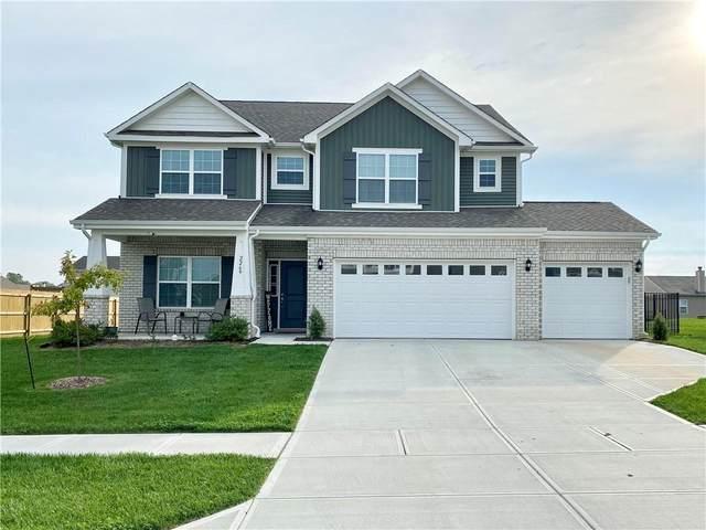 2269 Maple Stone Lane, Greenwood, IN 46143 (MLS #21818561) :: Ferris Property Group