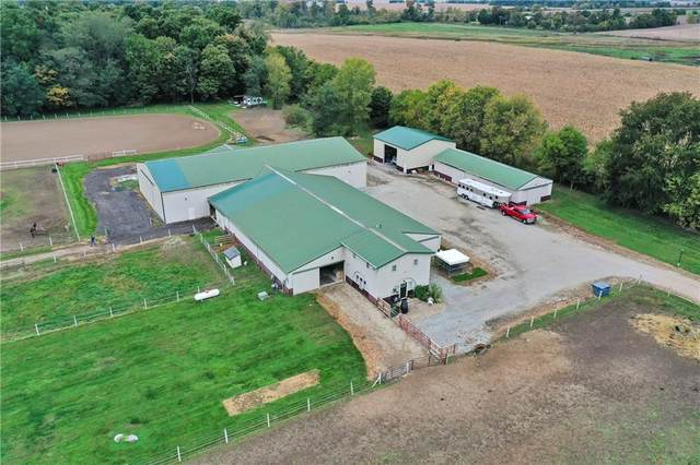 5301 S County Road 900 West, Daleville, IN 47334 (MLS #21818802) :: The Evelo Team