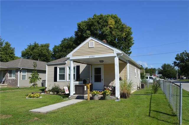 3502 W 12th Street, Indianapolis, IN 46222 (MLS #21818873) :: Mike Price Realty Team - RE/MAX Centerstone