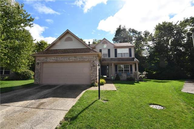 619 Crystal Woods Circle, Indianapolis, IN 46224 (MLS #21819073) :: Pennington Realty Team