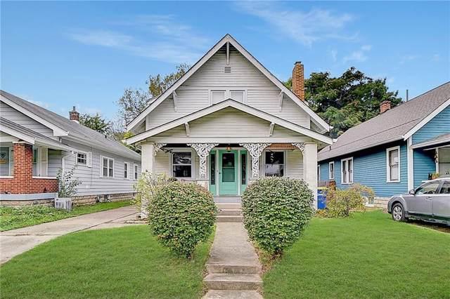 28 N Kenmore Road, Indianapolis, IN 46219 (MLS #21819102) :: Heard Real Estate Team | eXp Realty, LLC