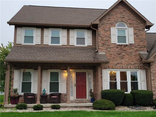 18 Pine Meadow Drive, Brownsburg, IN 46112 (MLS #21819125) :: The Evelo Team