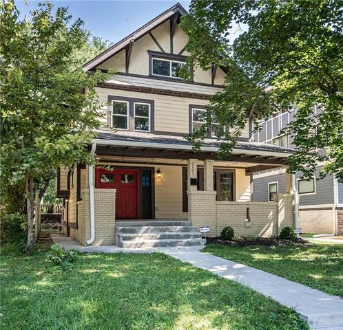 3107 N College Avenue, Indianapolis, IN 46205 (MLS #21819139) :: Mike Price Realty Team - RE/MAX Centerstone