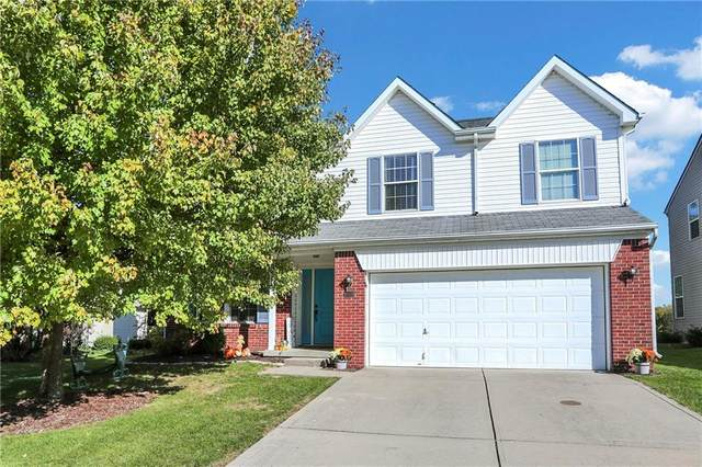 6521 Sussex Drive, Zionsville, IN 46077 (MLS #21819174) :: The Evelo Team