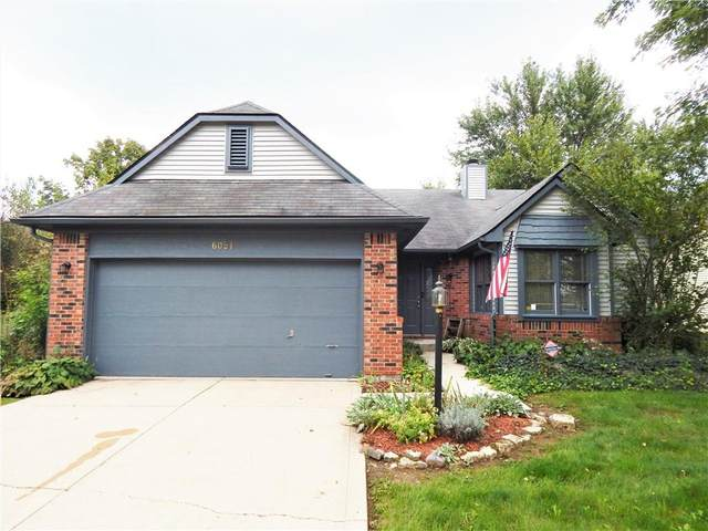6051 Buell Lane, Indianapolis, IN 46254 (MLS #21819250) :: JM Realty Associates, Inc.