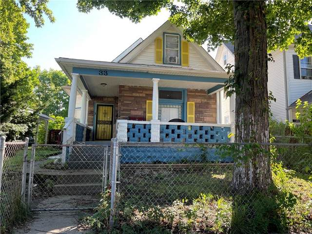 33 S Tuxedo Street, Indianapolis, IN 46201 (MLS #21819299) :: The Indy Property Source