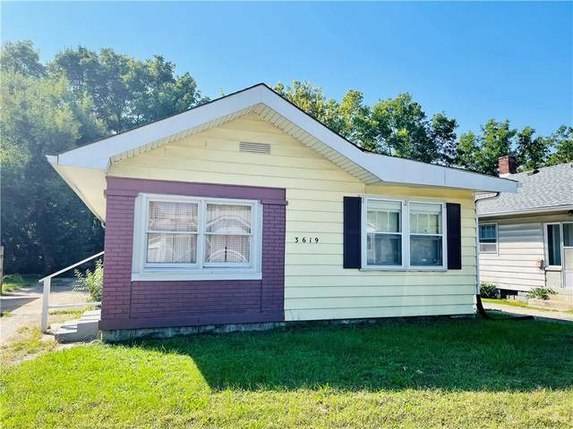 3619 Rockville Road, Indianapolis, IN 46222 (MLS #21819305) :: The Indy Property Source