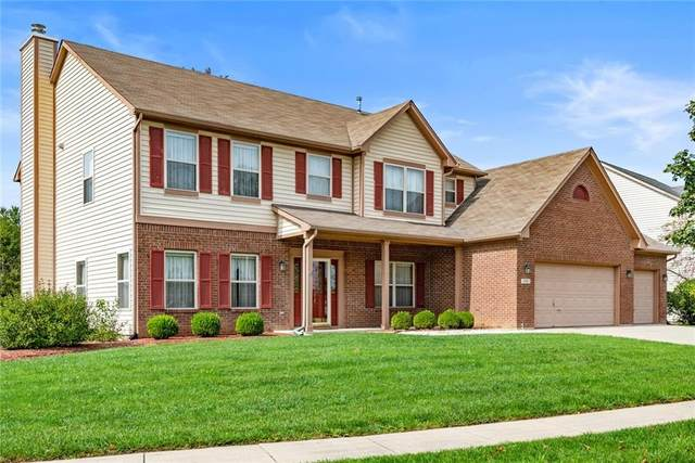 10580 Greenway Drive, Fishers, IN 46037 (MLS #21819331) :: The Evelo Team