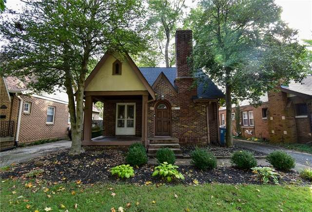 6105 N Haverford Avenue, Indianapolis, IN 46220 (MLS #21819364) :: AR/haus Group Realty