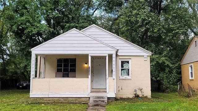 1132 Sharon Avenue, Indianapolis, IN 46222 (MLS #21819438) :: David Brenton's Team