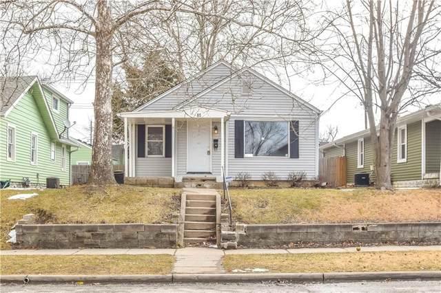 85 N 5TH Avenue, Beech Grove, IN 46107 (MLS #21819491) :: JM Realty Associates, Inc.