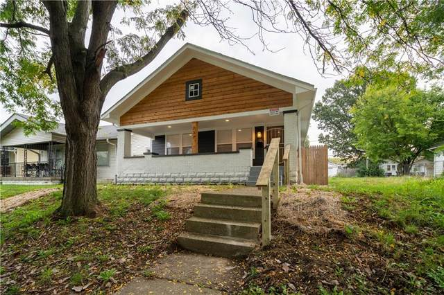 737 N Linwood Avenue, Indianapolis, IN 46201 (MLS #21819539) :: Mike Price Realty Team - RE/MAX Centerstone