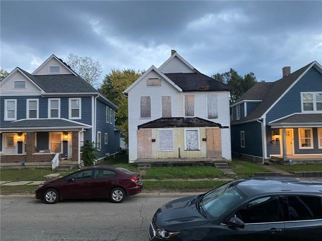 1015 Harlan Street, Indianapolis, IN 46203 (MLS #21819602) :: Mike Price Realty Team - RE/MAX Centerstone