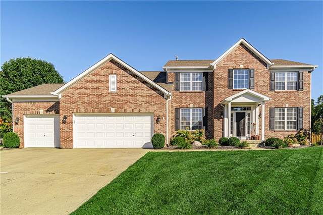 6710 Meadow View Court, Avon, IN 46123 (MLS #21819783) :: The Evelo Team