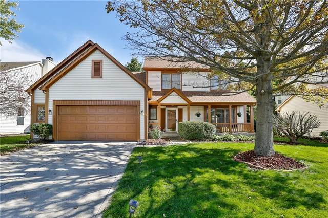 7969 Branch Creek Way, Indianapolis, IN 46268 (MLS #21819861) :: The Indy Property Source
