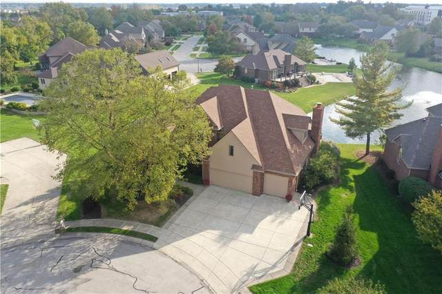 525 Augusta Court, Franklin, IN 46131 (MLS #21819979) :: The Indy Property Source