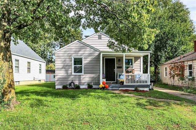 1167 N Medford Avenue, Indianapolis, IN 46222 (MLS #21820007) :: Mike Price Realty Team - RE/MAX Centerstone