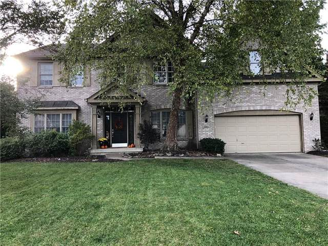 10892 Parrot Court, Fishers, IN 46037 (MLS #21820021) :: The Evelo Team