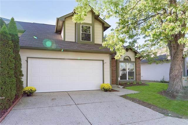 4050 Eagle Cove E Drive, Indianapolis, IN 46254 (MLS #21820129) :: Mike Price Realty Team - RE/MAX Centerstone