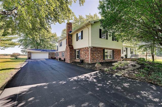 10883 N County Road 200 E, Pittsboro, IN 46167 (MLS #21820178) :: The Indy Property Source