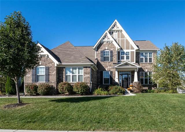 10004 Mcclarnden Court, Fishers, IN 46040 (MLS #21820211) :: The Evelo Team