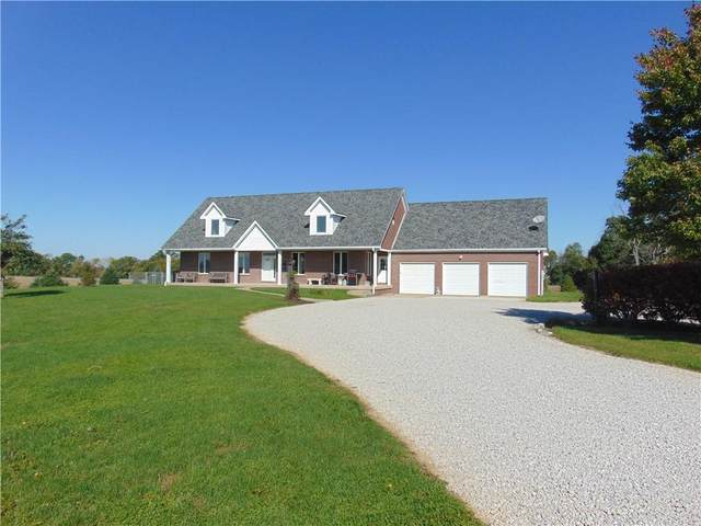 5560 E 600 N, Franklin, IN 46131 (MLS #21820246) :: The Indy Property Source