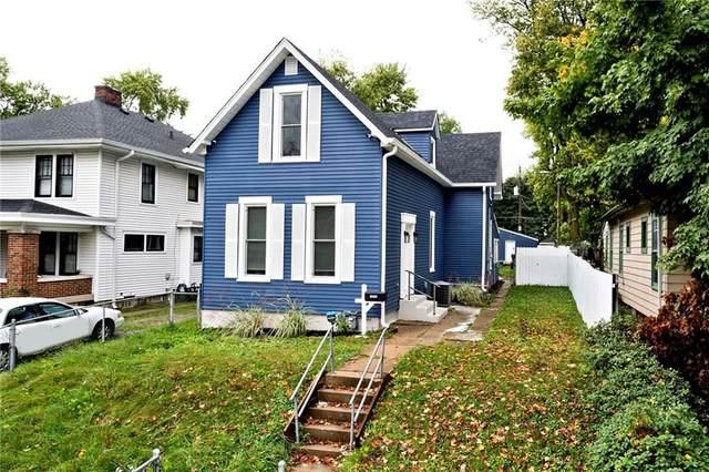 1115 N Keystone Avenue, Indianapolis, IN 46201 (MLS #21820326) :: The ORR Home Selling Team
